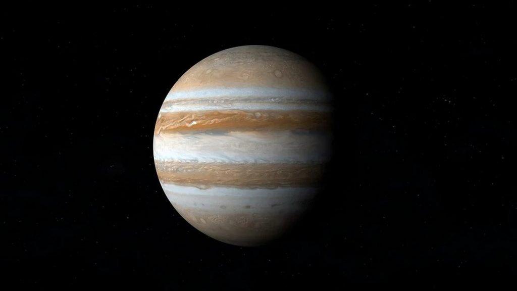 Júpiter es el mayor de nuestro Sistema Solar.
