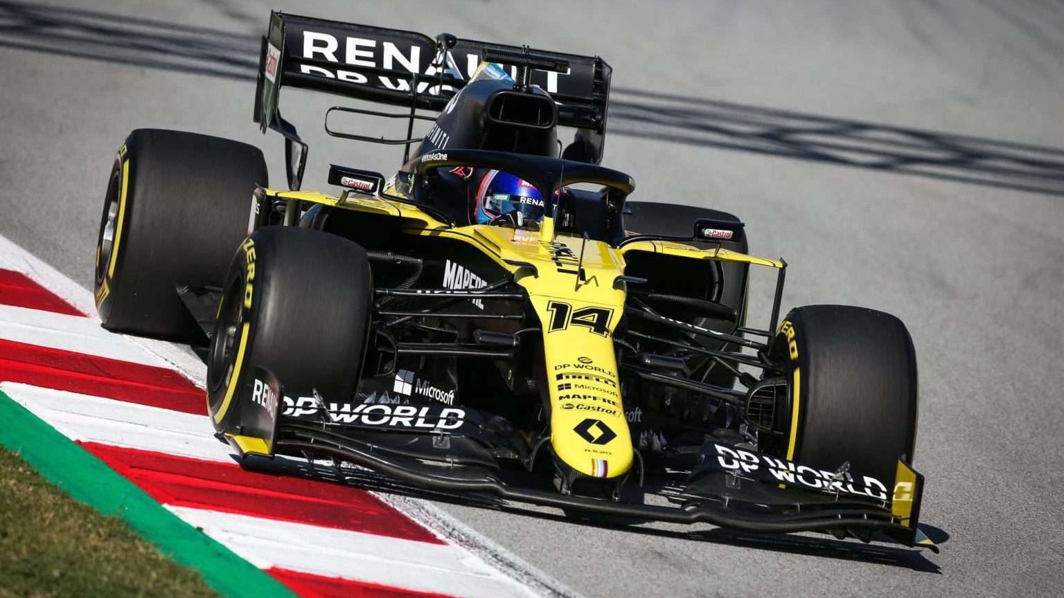 Fernando Alonson Renault 2021