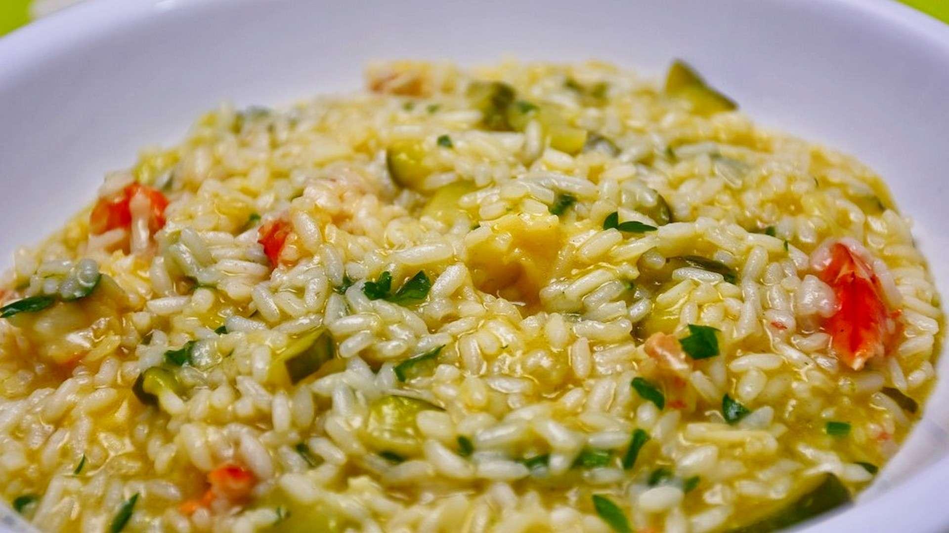 os mejores arroces para risotto proceden de Italia