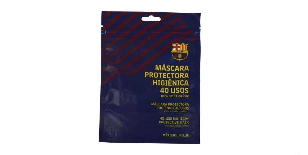 5- Barça Máscara protectora higiénica 40 usos